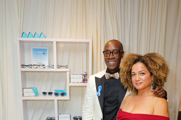 Don Cheadle Bridgid Coulter Backstage Creations Giving Suite At The Emmy Awards - Day 2
