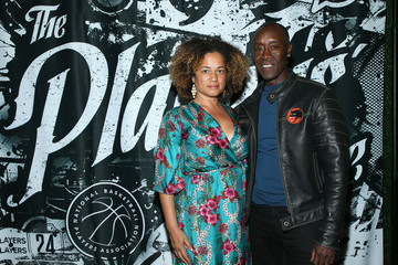 Don Cheadle Bridgid Coulter 2019 NBPA Players' Voice Awards