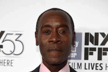 Don Cheadle Closing Night of the 53rd New York Film Festival Featuring Miles Ahead