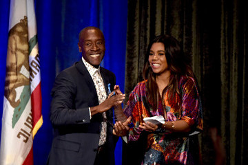 Don Cheadle Regina Hall ACLU SoCal's Annual Bill Of Rights Dinner - Show