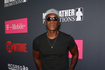 Don Cheadle SHOWTIME, WME|IMG, and MAYWEATHER PROMOTIONS VIP Pre-Fight Party Arrivals on the T-Mobile Magenta Carpet for Mayweather VS McGregor