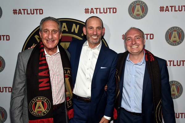 Guests Attend the MLS Atlanta Launch Event