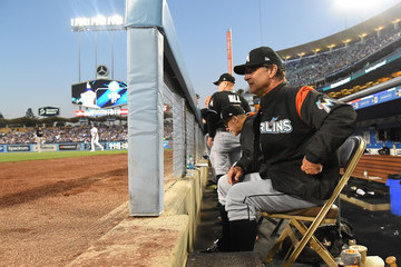 Don Mattingly Miami Marlins v Los Angeles Dodgers