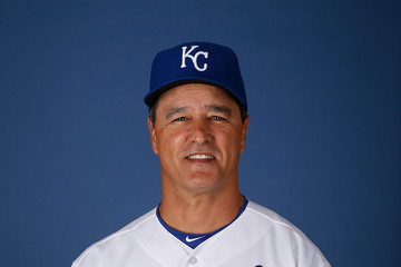 Don Wakamatsu Kansas City Royals Photo Day