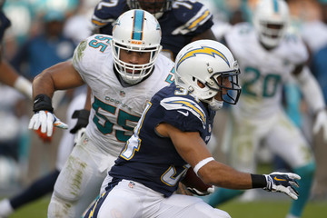 Donald Brown Miami Dolphins v San Diego Chargers