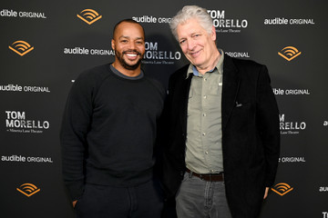 Donald Faison Clancy Brown Audible Celebrates Tom Morello At Minetta Lane Theatre In NYC