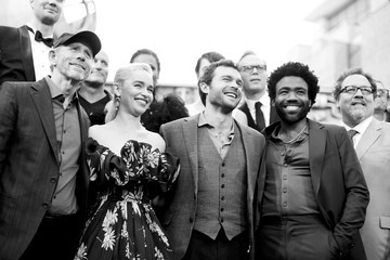 Donald Glover Alden Ehrenreich Stars And Filmmakers Attend The World Premiere Of 'Solo: A Star Wars Story' In Hollywood