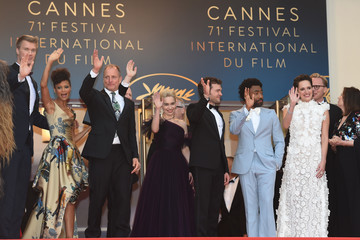 Donald Glover Thandiwe Newton European Premiere of 'Solo: A Star Wars Story' At the Palais Des Festivals During The 71st International Cannes Film Festival