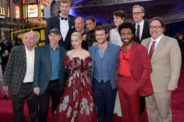 Donald Glover Thandiwe Newton Premiere Of Disney Pictures And Lucasfilm's 'Solo: A Star Wars Story' - Red Carpet
