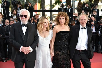 Donald Sutherland Arnaud Desplechin 'The Last Face' - Red Carpet Arrivals - The 69th Annual Cannes Film Festival
