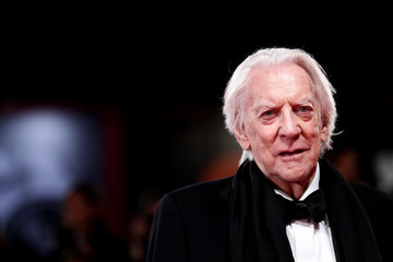 Donald Sutherland 'The Burnt Orange Heresy' Red Carpet Arrivals - The 76th Venice Film Festival