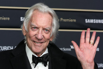 Donald Sutherland 'The Burnt Orange Heresy' Premiere - 15th Zurich Film Festival