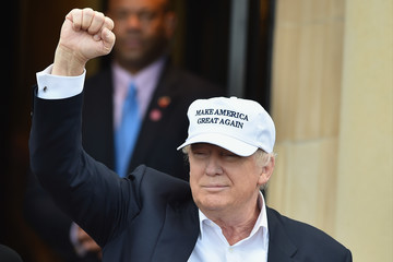Donald Trump Donald Trump Opens His New Golf Course at Turnberry
