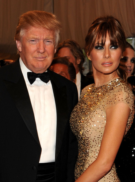 "Donald Trump - ""Alexander McQueen: Savage Beauty"" Costume Institute Gala At The Metropolitan Museum Of Art - Arrivals"