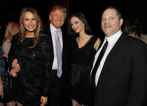 Donald+Trump+Harvey+Weinstein+New+York+P