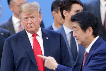 Donald Trump Shinzo Abe News Pictures of The Week - December 6