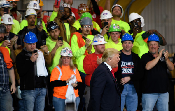 Donald+Trump+Trump+Visits+Union+Training