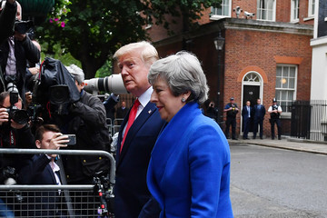 Donald Trump - US President US President Trump's State Visit To UK - Day Two