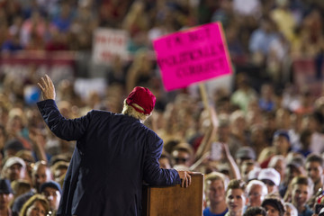 Donald Trump Donald Trump Holds Campaign Rally in Mobile, Alabama