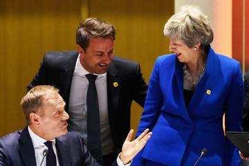 Donald Tusk European Best Pictures Of The Day - April 11, 2019