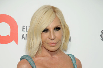 Donatella Versace 28th Annual Elton John AIDS Foundation Academy Awards Viewing Party Sponsored By IMDb, Neuro Drinks And Walmart - Arrivals