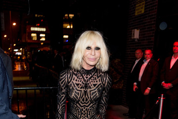 Donatella Versace 'Manus x Machina: Fashion in an Age of Technology' Costume Institute Gala - After Parties
