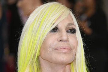 "Donatella Versace ""Rei Kawakubo/Comme des Garcons: Art of the In-Between"" Costume Institute Gala - Arrivals"