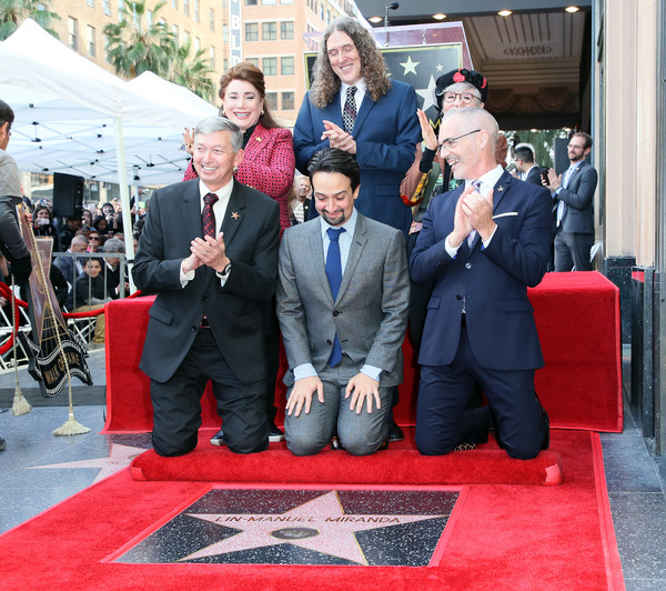 Lin-Manuel Miranda Honored With Star On The Hollywood Walk Of Fame