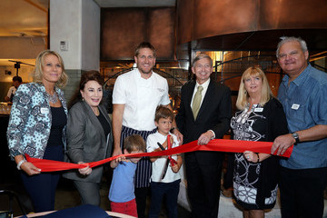 Donelle Dadigan The Hollywood Chamber Of Commerce And Award-Winning Chef Curtis Stone Host Ribbon-Cutting For His New Restaurant Gwen