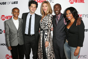 Donis Leonard Jr. Arrivals at the 'House of Lies' Panel Discussion — Part 2