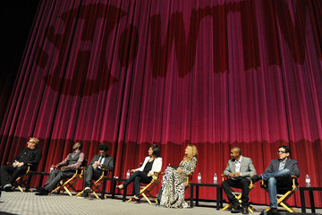 Donis Leonard 'House of Lies' Panel Discussion in Hollywood