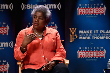 "Donna Brazile DNC Chair Donna Brazile Speaks With SiriusXM's Mark Thompson For The ""Leading Ladies"" Series"