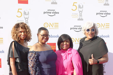 Donna Brazile Leah D. Daughtry 50th NAACP Image Awards - Red Carpet