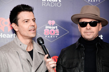 Donnie Wahlberg Jordan Knight iHeart80s Party 2017 -  Arrivals