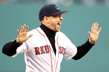 Donnie Wahlberg Tampa Bay Rays v Boston Red Sox