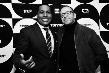 Donnie Wahlberg TCA Turner Winter Press Tour 2019 - Green Room