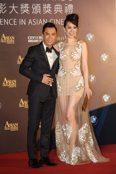 Donnie Yen Pictures - Arrivals at the Asian Film Awards ...