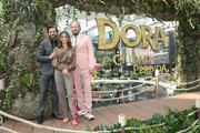 """Eugenio Derbez, Isabela Moner and James Bobin attend the """"Dora and the Lost City of Gold"""" Mexico Premiere at Cinepolis Parque Toreo on September 8, 2019 in Mexico City, Mexico."""