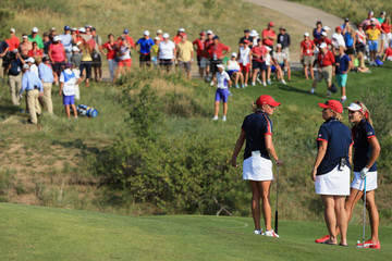 Dottie Pepper The Solheim Cup: Day 1