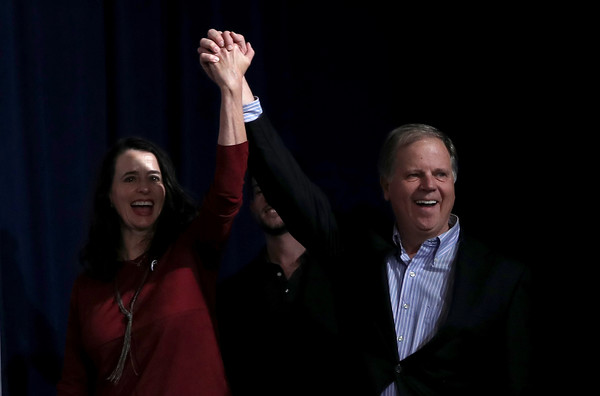 Doug Jones Holds Get Out the Vote Rally on Eve of Alabama Senate Election []