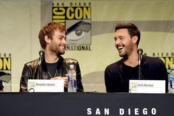 Douglas Booth The Screen Gems Panel at Comic-Con 2015
