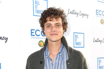 Douglas Smith Stars Attend The All It Takes Lasting Legacy Event At The Headquarters Of Earth Friendly Products (ECOS) To Celebrate Youth Leadership