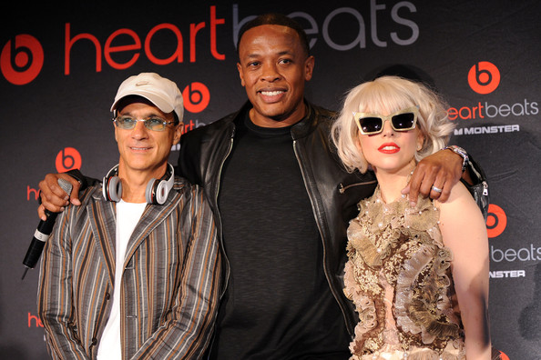 Jimmy Lovine and Dr. Dre - Heartbeats By Lady Gaga Headphones Unveiling