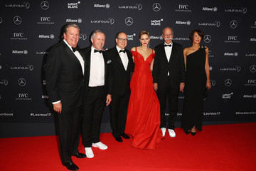 Dr. Dieter Zetsche Red Carpet - 2017 Laureus World Sports Awards - Monaco