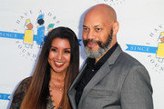 """Gayle Ridley and John Ridley attend the """"I Have A Dream"""" Foundation's 5th Annual Los Angeles' Dreamer Dinner at Skirball Cultural Center on March 18, 2018 in Los Angeles, California."""