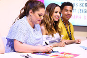 (L-R) Lauren Ash, Aimee Carrero and Marcus Scribner attend DreamWorks She-Ra and the Princesses of Power at San Diego Comic-Con 2019 at San Diego Convention Center on July 19, 2019 in San Diego, California.