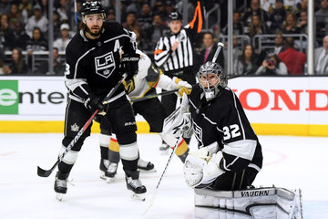 Drew Doughty Jonathan Quick Vegas Golden Knights vs. Los Angeles Kings - Game Four