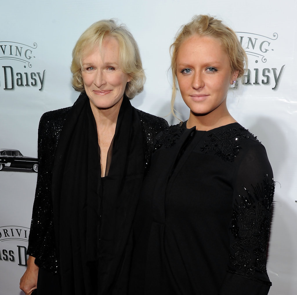 Photo of Glenn Close & her Daughter  Annie Maude Starke