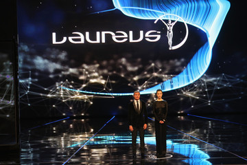 Du Juan Laureus World Sports Awards Show