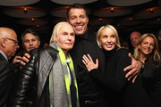 (L-R) Dr. Fredric Brandt, Tony Robbins and Sage Robbins attend DuJour Magazine's Jason Binn and Invicta Watches in the welcoming of Tony Robbins to New York at Catch NYC on November 17, 2014 in New York City.